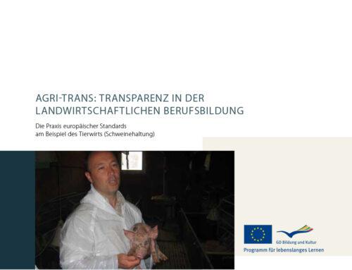 Agri-Trans: Transparenz in der landwirtschaftlichen Berufsbildung