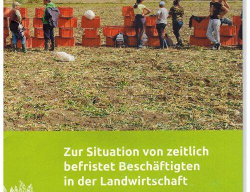 Situationsbericht Saisonarbeit in der Landwirtschaft