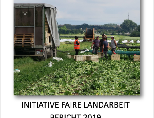 Initiative Faire Landarbeit – Bericht 2019