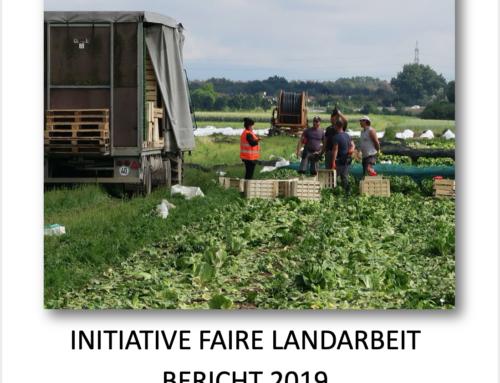Initiative Faire Landarbeit – Bericht 2019