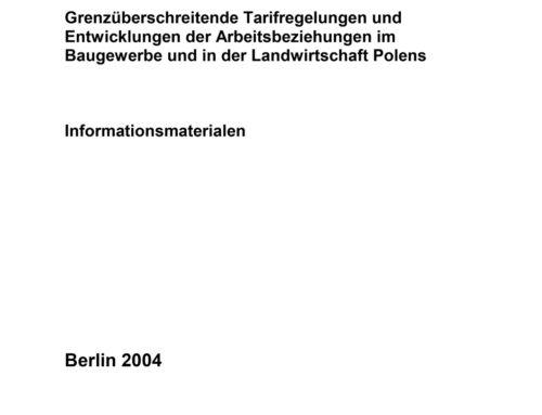 Grenzüberschreitende Tarifregelungen – Informationsmaterialien